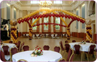 Balloons corporate events maidstone